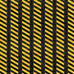 Construction Zone Caution Tread Stripes