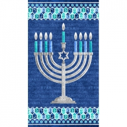 Stonehenge Happy Hanukkah Panel