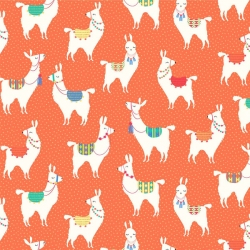 Llama Llama Allover Orange