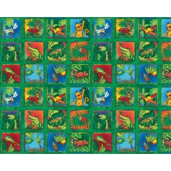Rainforest Buzz Blocks