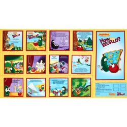 Veggie Tales How in the World Book & Poster Panel