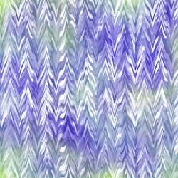 Belle Watercolor Chevron Purple