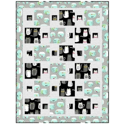 Cat Fish Dash Quilt Kit