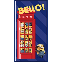 Minions British Invasion Bello Panel