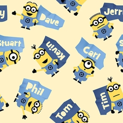Minions & Names Toss Yellow