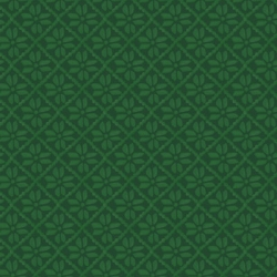 The Mitten Snowflake Tonal Green