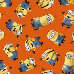 Minions Tossed on Orange