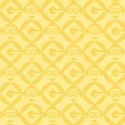 Minions Geometric Yellow