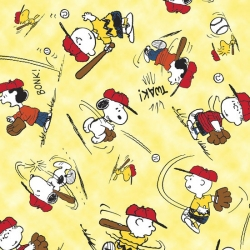 Peanuts All Stars Character Toss Yellow