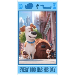 Secret Life of Pets Dogs Digital Panel