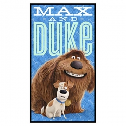 Secret Life of Pets Max and Duke Panel
