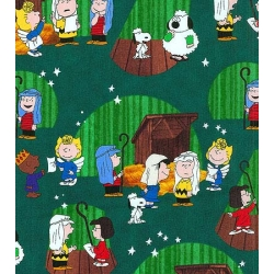 Peanuts Christmas Play Vignettes Forest