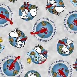 Snoopy the Flying Ace Globe Toss
