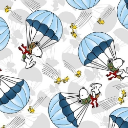 Snoopy the Flying Ace Parachute Toss