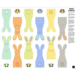 Sew & Go Bunny Bowling Panel