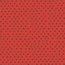 The Beat Square Dot on Chili Red