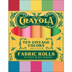 Crayola Vintage Solids Fat Quarter Box