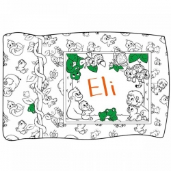 Crayola Jungle Coloring Pillowcase Panel