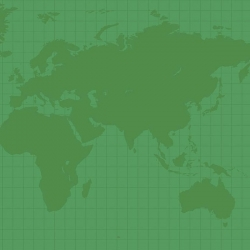 Our World Map Green