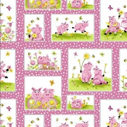 Flip the Pig Patchwork Blocks