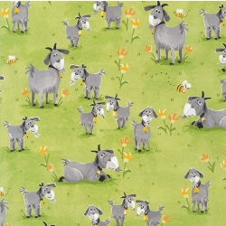 Susybee Hildy Goats on Green Grass