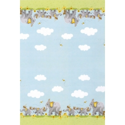 Susybee Knightly Elephant Double Border