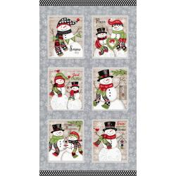 Snow Place Like Home Blocks Panel
