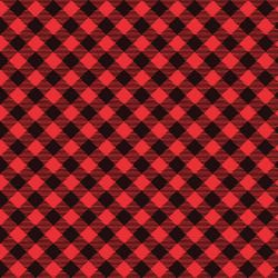 Snow Place Like Home Red Buffalo Plaid