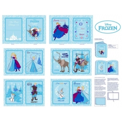 Frozen Anna's Friends Softbook Panel