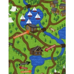 Camping Critters Map