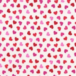 Lovestruck Mini Hearts White