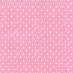 Polka Dots on Ballet Pink