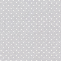 Polka Dots on Dove Gray
