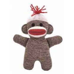 Monkey Socks Brown Mini ONE Pair